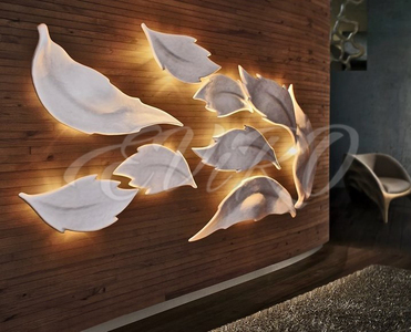 Gypsum 3d panels SV 14 with lighting