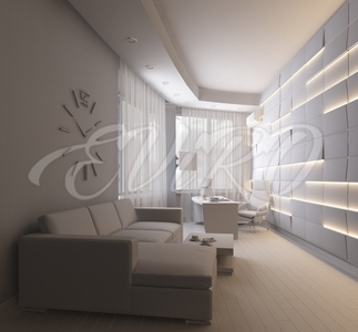 Gypsum 3d panels SV 11 with lighting